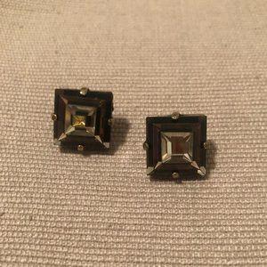 JCrew pyramid earrings